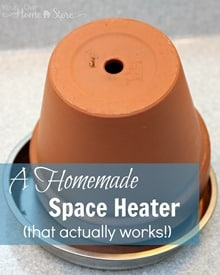 Homemade Space Heater