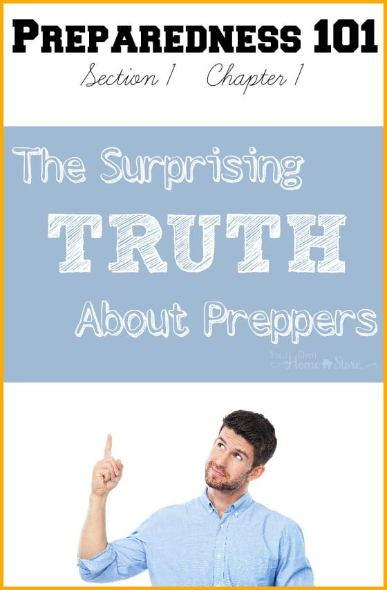Surprising Truth About Preppers