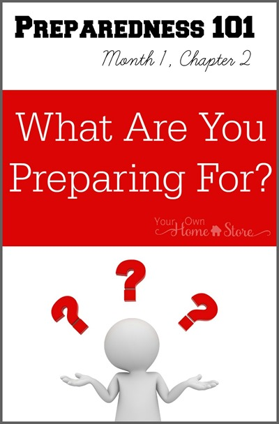 What are you preparing for