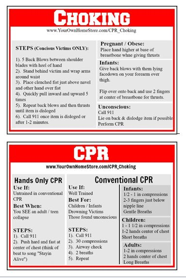 CPR and Choking First Aid