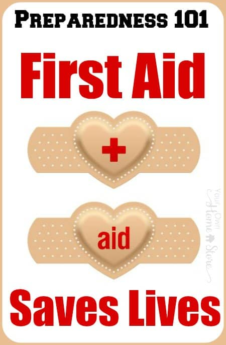It is the 3rd month of Prep-101! All month long we will be focusing on first aid. Follow along for tips, supply suggestions and printable first aid skill cards.