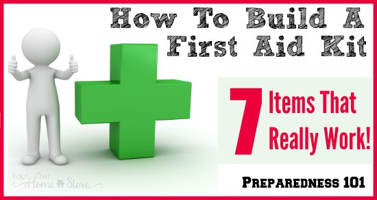 How To Build First Aid Kit For Go Bag
