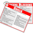 shock and bleeding first aid image