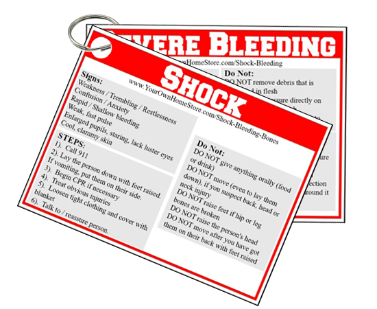 Shock and Severe Bleeding First Aid Basics
