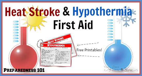 Basic First Aid For Hypothermia and Heat Stroke