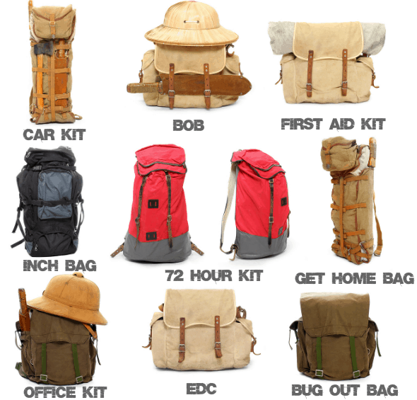 Which Emergency Kit / Bag(s) do you REALLY need?