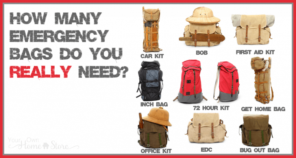 Which emergency bag