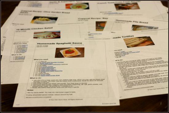 gather recipes