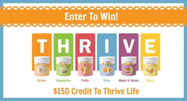 $150 Thrive Life Credit Giveaway: E-Prep 101 Course Sept 1st – Sept 30th