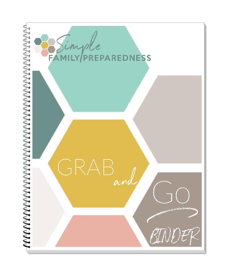 fill able grab and go binder pages