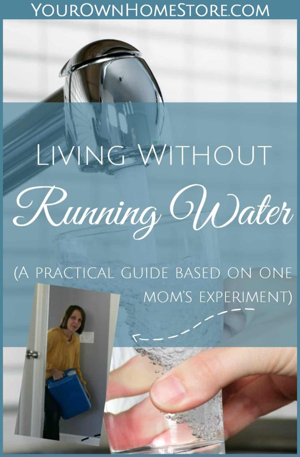 Emergency Water Storage tips | How to live without running water