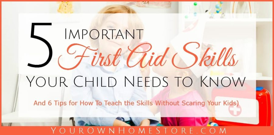 first aid skills for kids | How to teach first aid to kids