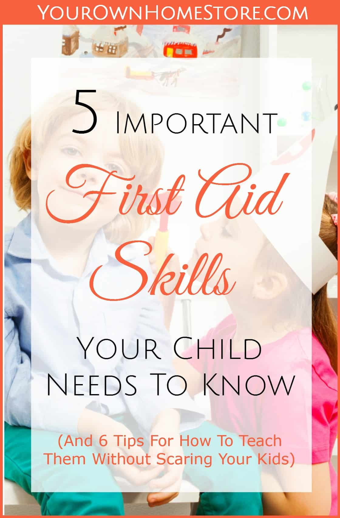 how to teach kids first aid | First aid skills for kids