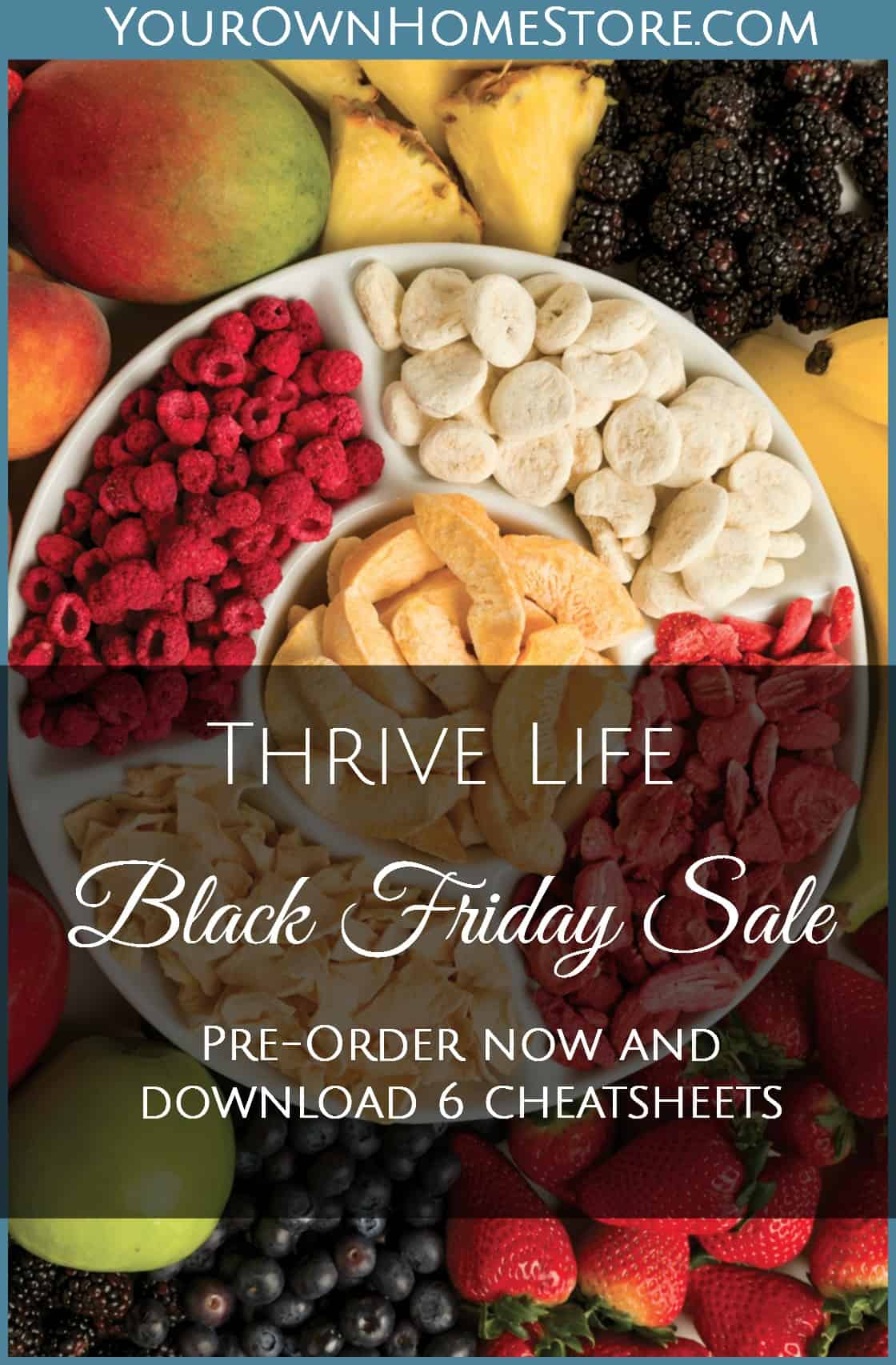 The Thrive Life Black Friday Sale 2016