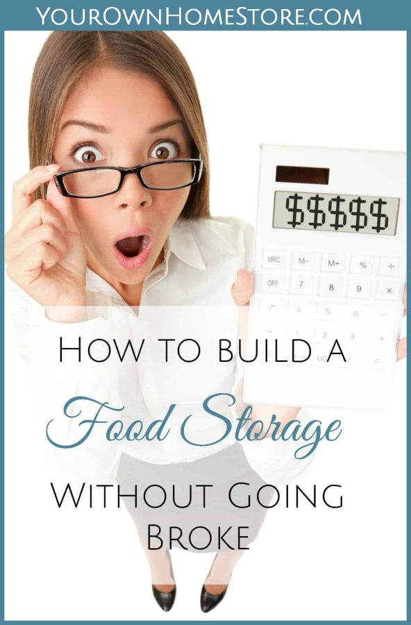 Cheap food storage isn't always worth the money you save when you consider the quality. I'll show you six ways to build a quality food storage for less.