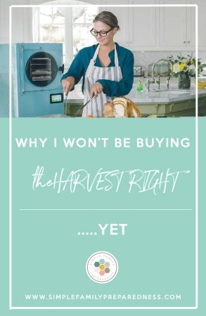 Harvest Right Review | Why I Won't be Buying the Harvest Right Home Freeze Dryer - Yet