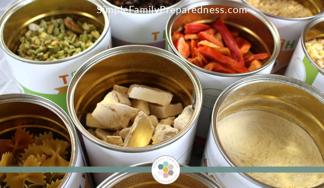 The Best Way to Sample Freeze Dried Foods
