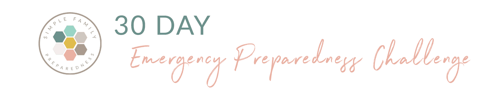 30 Day Preparedness Challenge