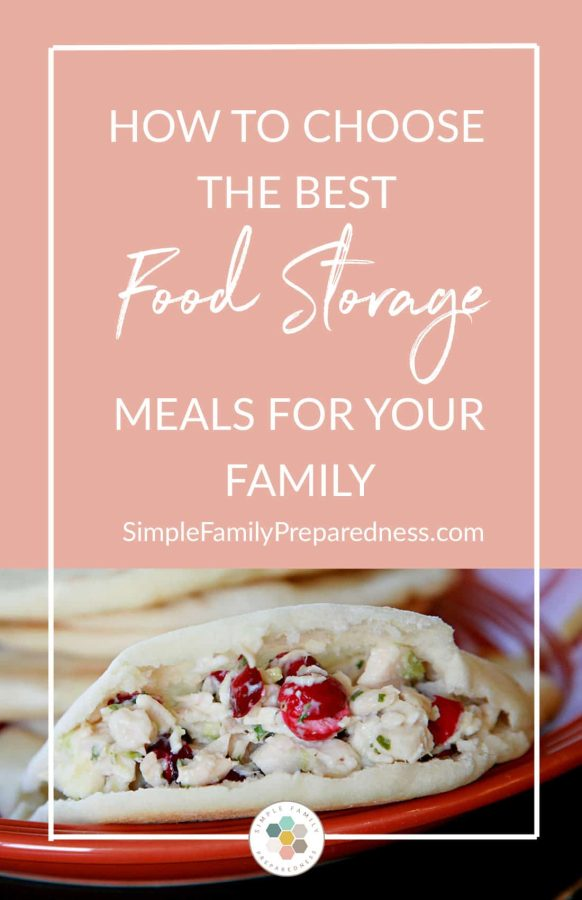 Food storage meals | How to Choose the Best Food Storage Meals for Your Family