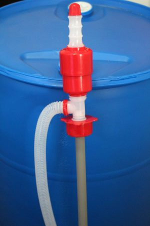 The right way to fill up a 55 gallon water container - in 7 simple steps.
