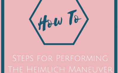 Save a Life: How To Perform The Heimlich Maneuver the Right Way