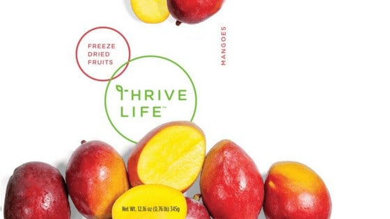 Review: Thrive Life Dried Mango