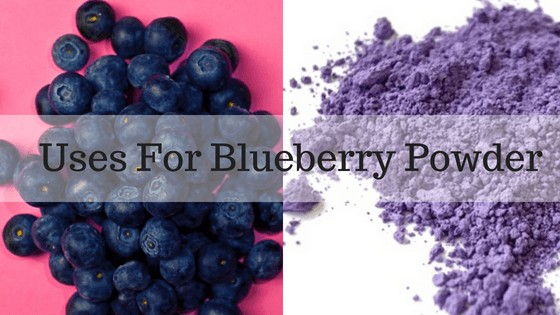 Blueberry Powder; How is it Used?