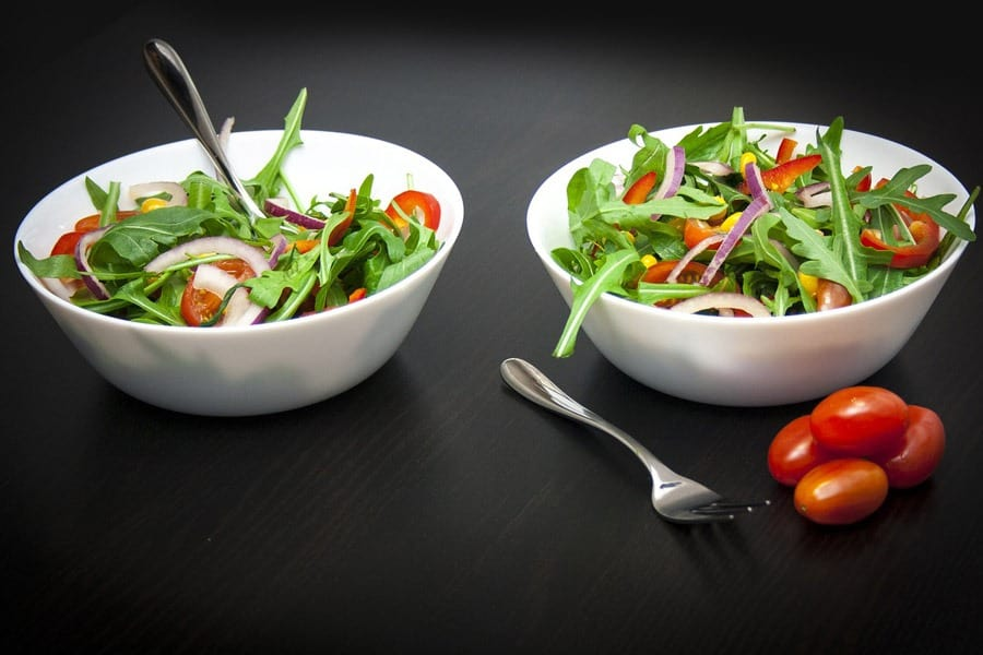 Two Salad Bowls