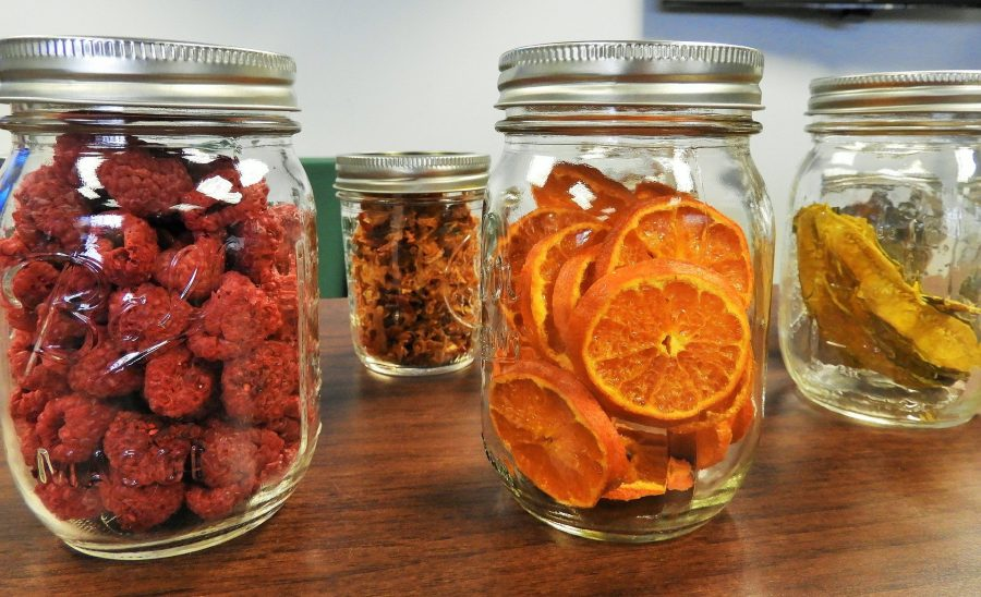 Mason jars of food that needs to be rotated according to our prepper's spring to-do list